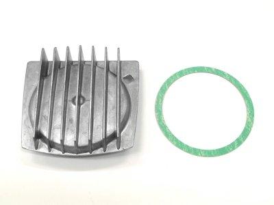 画像2: [純正部品] Lシリンダーヘッドカバー(放熱フィン付)