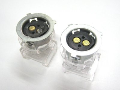 画像1: [純正部品] ヘッドライトソケット(プレスカブ専用)