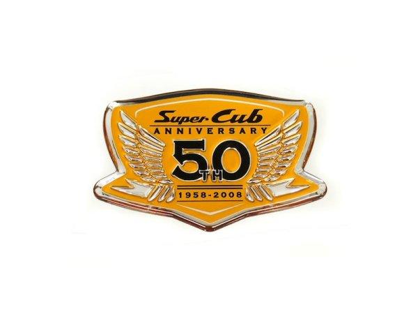 画像1: [純正部品] スーパーカブ50周年記念ステッカー (1)