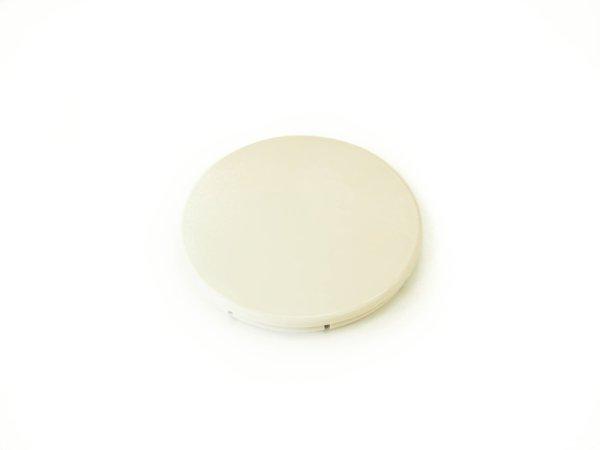 画像1: [純正部品] フロントカバーキャップ(ココナッツホワイト)(丸) (1)