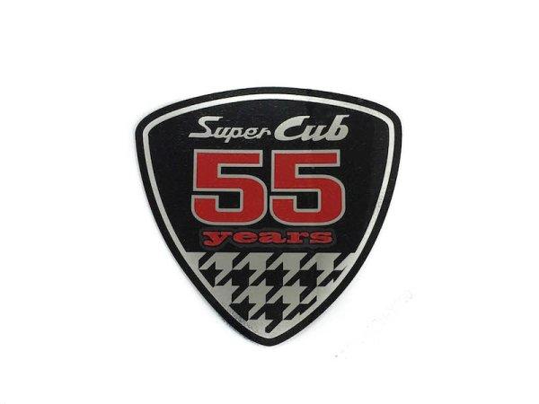 画像1: [純正部品] スーパーカブ55周年記念ステッカー (1)