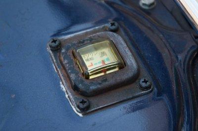 画像1: [純正部品] フューエルメーター ボディプレートセット