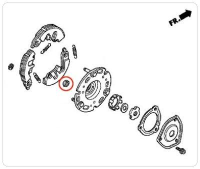 画像1: [純正部品] クラッチダンパーラバーセット