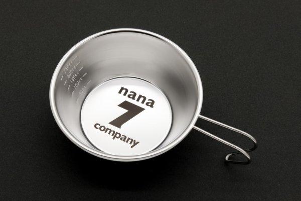 画像1: ナナカンパニー ロゴ入りシェラカップ (1)