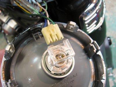 画像3: [純正部品] ヘッドライトソケット