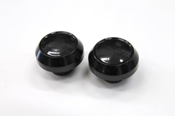 画像1: [純正部品] フロントフォークキャップセット(ブラック) (1)